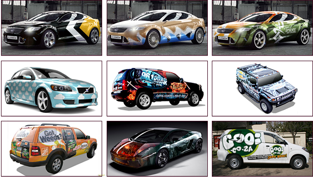 Vehicle wraps for Car wrap design templates